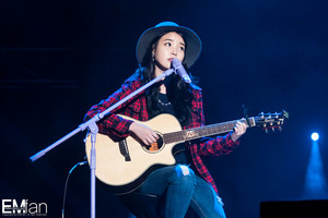 140921 IU at Melody Forest Camp konzert