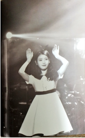 150301 IU at Seo Taiji's Quiet Night Encore konzert Forest Fighter