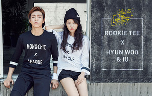 150731 IU and Lee Hyun Woo for Unionbay Fall New Arrival