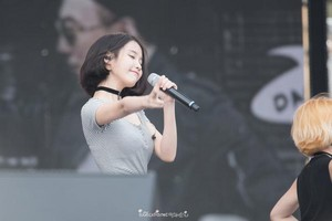 150813 IU(アイユー) at Infinity Challenge Festival