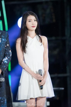 150813 IU at Infinity Challenge Festival