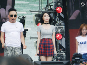150813 IU(アイユー) at Infinity Challenge Song Festival Rehearsal