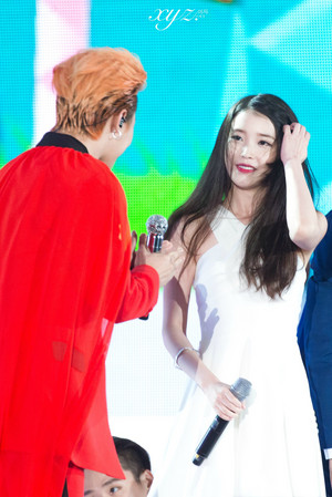150813 IU at Infinity Challenge Song Festival