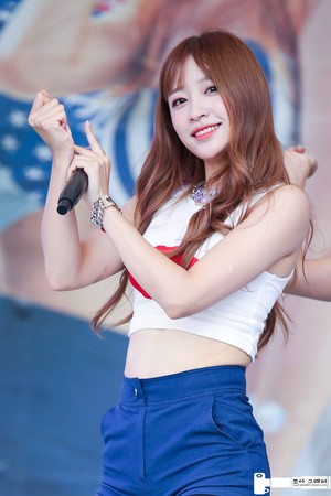 150816 EXID Hani California strand Event