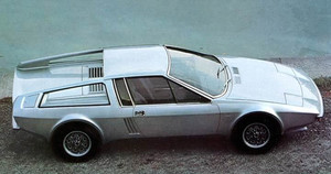 1974 Frua-Audi 100S mobil tertutup berpintu dua, coupe
