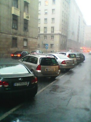 """A freaking """"monsoon"""" in Hungary... :/"""