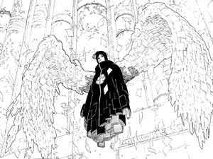 Akatsuki Konan in manga