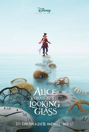 Alice Through The Looking Glass - D23 Expo Teaser Poster