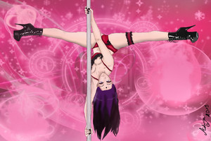 Anime Pole Dancing Time : OMG so hot