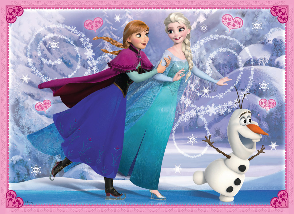 Anna elsa and olaf la reine des neiges photo 38714691 - Rein des neig ...