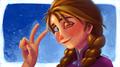 Anna - frozen fan art