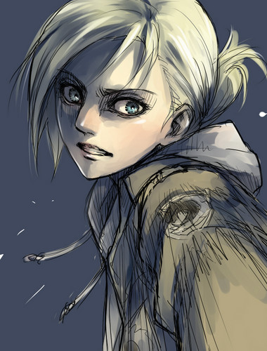 Shingeki no Kyojin (Attack on Titan) Hintergrund probably with Anime entitled Annie