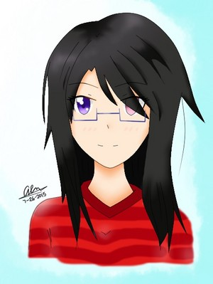 Another portrait acak drawing thing