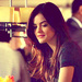 Aria Montgomery - lucy-hale icon