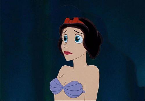 Princesses Disney fond d'écran titled Ariel With Snow White's Hair