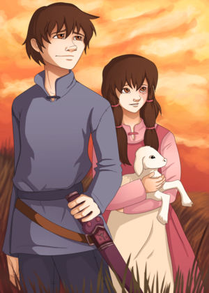 Arren and Therru