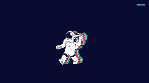 Space Wallpaper Titled Astronaut