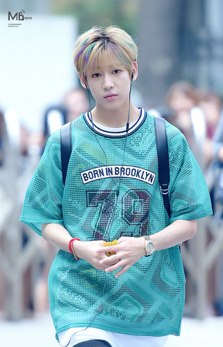 GOT7 壁紙 possibly with a jersey, a short sleeve, and a leisure wear called BamBam