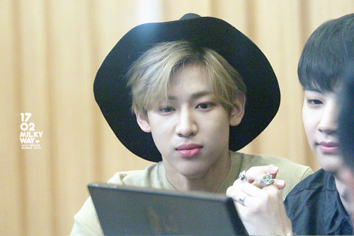 GOT7 fondo de pantalla possibly containing a dress hat, a fedora, and a boater titled BamBam