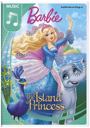 Barbie Movies wallpaper with anime titled Barbie as Island Princess NEW DVD ARTWORK