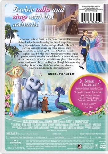Barbie-Filme Hintergrund probably containing a newspaper and Anime called Barbie as Island Princess NEW DVD ARTWORK