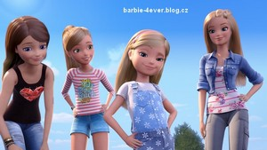 búp bê barbie & Her Sisters in The Great cún yêu, con chó con Adventure