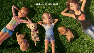 barbie & Her Sisters in The Great anak anjing, anjing Adventure