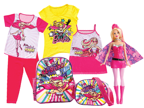 barbie merchandise