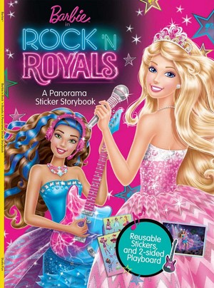 Barbie in Rock N' Royals Book