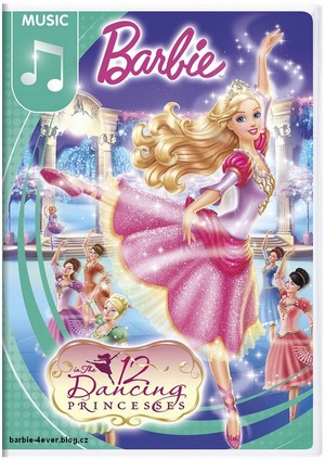 Barbie in The 12 Dancing Princesses NEW DVD ARTWORK