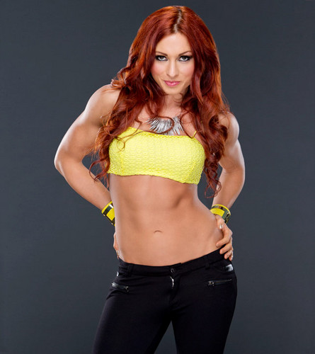 WWE Divas achtergrond entitled Becky Lynch