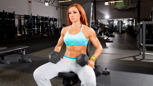 WWE Divas achtergrond called Becky Lynch