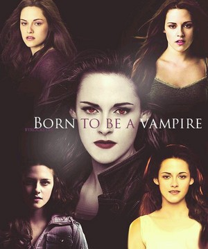 Bella Swan-born to be a vampire