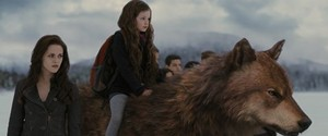Bella and Renesmee and Jake