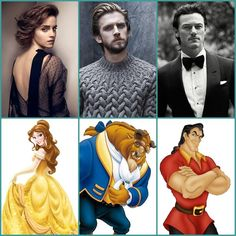 Belle / The Beast / Gaston