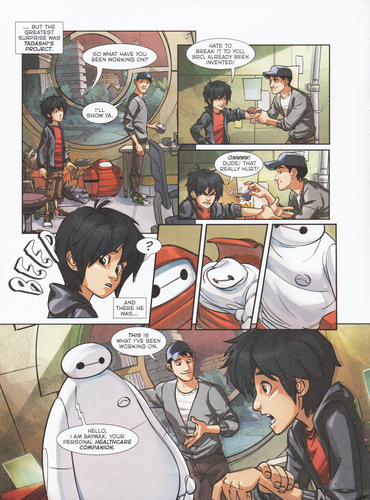"Big Hero 6 wallpaper with anime titled Big Hero 6 Comic - ""Baymax's Best Friend"""