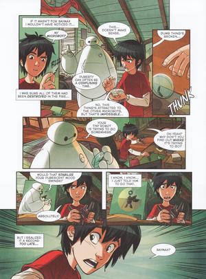 "Big Hero 6 Comic - ""Baymax's Best Friend"""