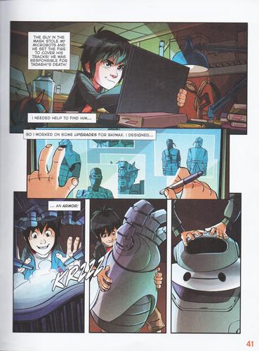 big hero 6 comic pdf