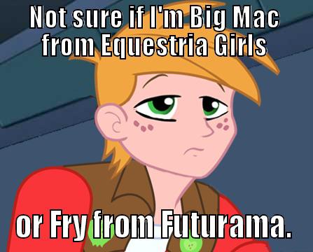 Someonebutnoone Hintergrund with Anime called Big Macintosh