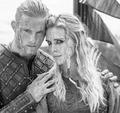 Bjorn and Porunn - vikings-tv-series photo