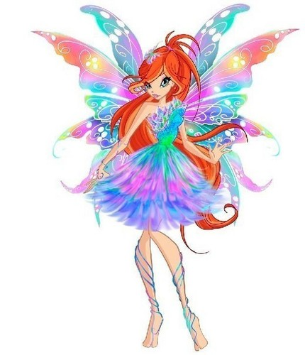 o clube das winx wallpaper called Bloom's Concept Art of Butterflix
