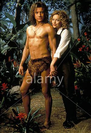 Brendan Fraser & Leslie Mann 1997