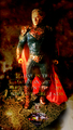 Calvin's Custom 1:6 one sixth scale Man of Steel Aged superman False God