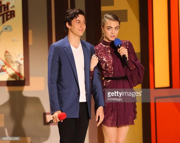 Cara and Nat - 2015 MTV Movie Awards