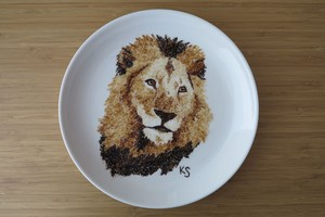 Cecil the lion plate