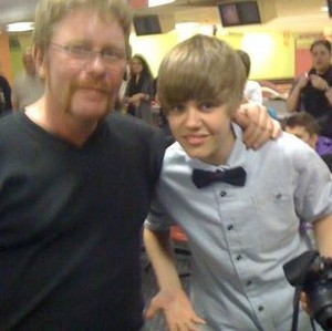 Chris Mallette and Justin Bieber