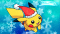 pokemon - Christmas pikachu wallpaper