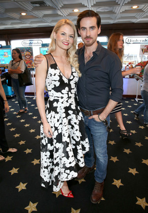 Colin O'Donoghue, Jennifer Morrison -The Nintendo Lounge on the TV Guide Magazine Yacht at SDCC 2015
