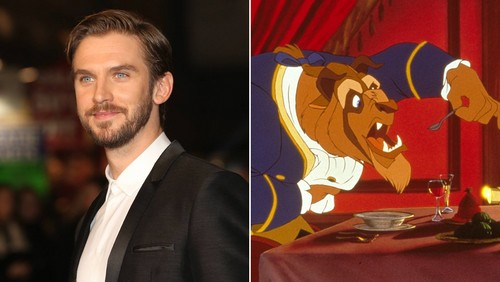 Beauty and the Beast (2017) karatasi la kupamba ukuta with a business suit called Dan Stevens / The Beast