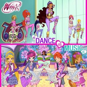 Dance または 音楽